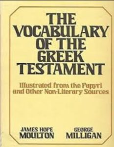 Icon of Vocabulary Of The Greek NT Dct