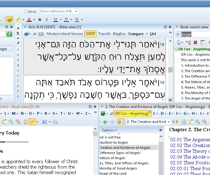 Using Hebrew-Greek Bibles (Easy) (Layout)