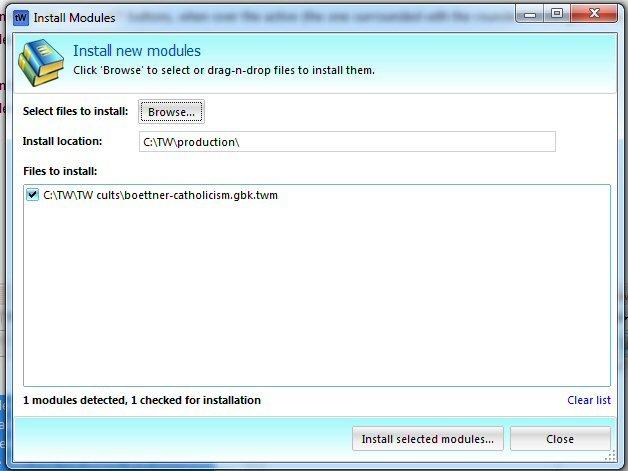 install-modules
