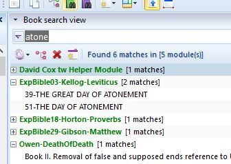 topic search theWord