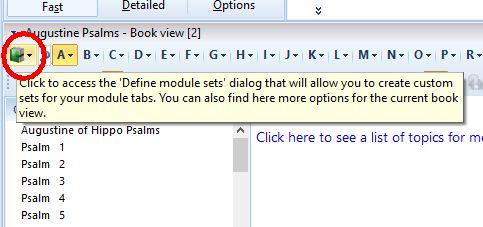 Define theWord Module Set