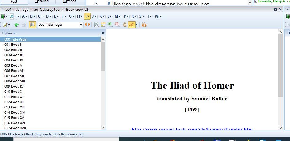 White space around module title